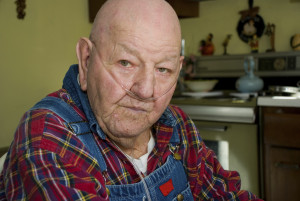Elderly Gentleman, Veteran, Nursing Home Resident - Angels Care Center Cannon Falls