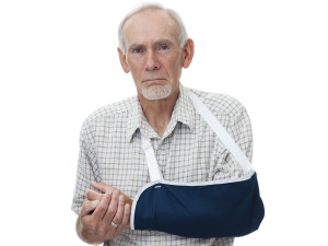 Fall in Nursing Home Fracture to Elbow