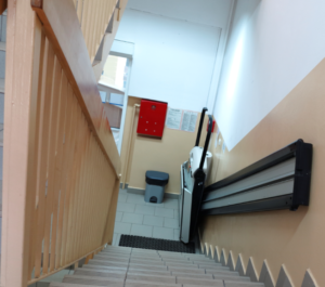 Open Stairwell Falls from Wheelchairs