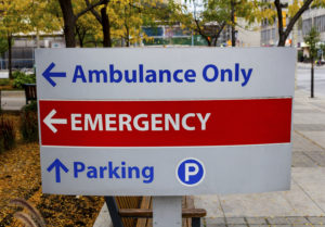 Information About When an Adverse Health Event Occurs in Hospital Setting